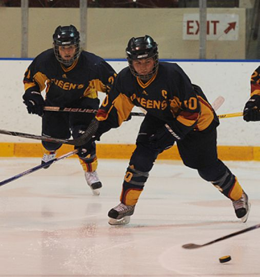 Women's hockey captain Alison Bagg was named an OUA First-Team All-Star this season.