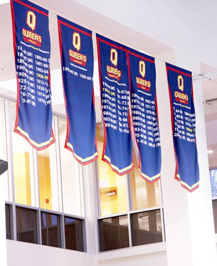 Athletics hopes constant evaluation will lead to more banners.