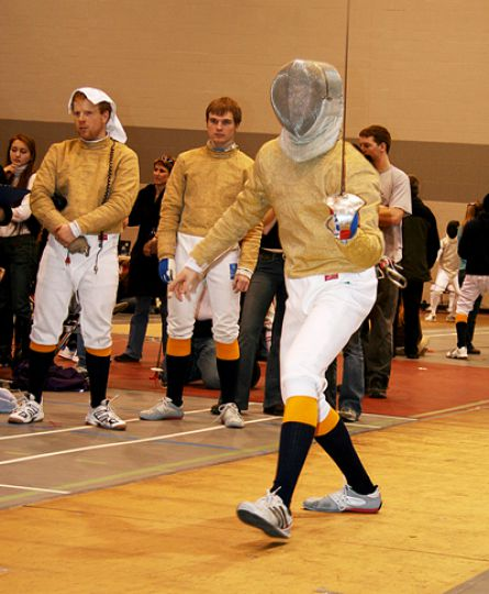Scott Bowman won this year's George Tully Trophy as he led the men's fencing team to a team third-place finish.