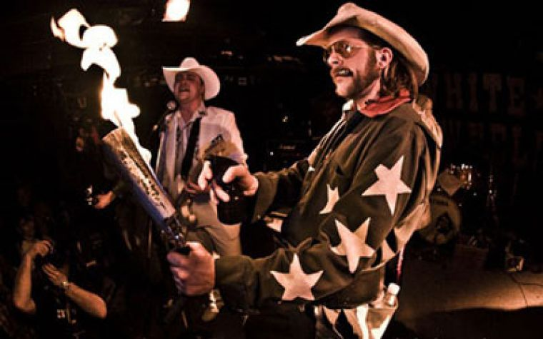 Flaming cowbell and 1970s-infused show aside, White Cowbell Oklahoma have grown into an extremely dynamic, virtuosic musical outfit.