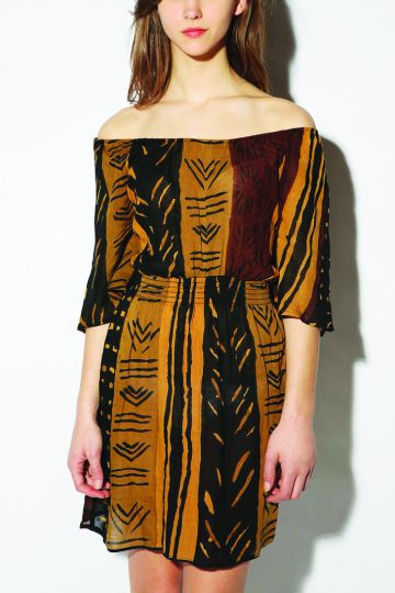 Where to find it: Urban Outfitters Urban Renewal Soft Shoulder Gauze Dress; $59.00