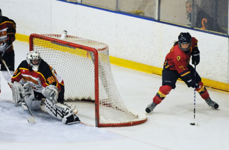 The Guelph Gryphons challenged the Gaels in game two of the OUA final with a very physical style of game, nevertheless, Queen's came out on top after one overtime.