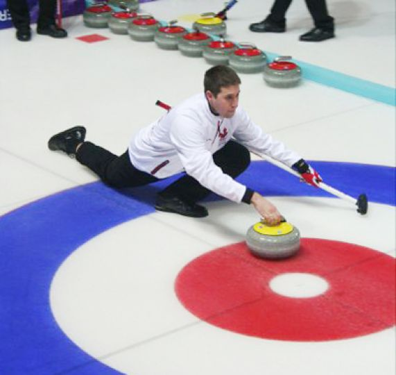 The Queen's curling team travelled to Turkey after winning the CIS championships last year.
