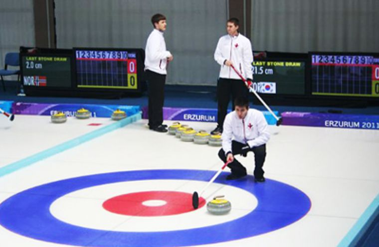 The curling team travelled to Turkey for the World University Games representing Canada. The team was knocked out of the tournament by the Czech Republic in a tiebreaker game.