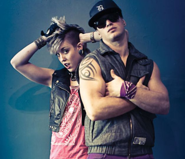 Kalina Sutaroski and Greg Hovanessian, both ArtSci '12, are among the many students developing rave culture in Kingston.