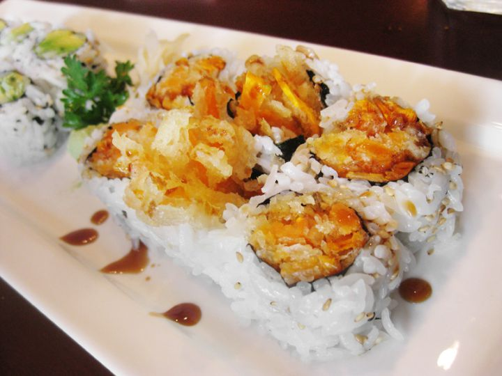 Sima Sushi, on Princess St., was voted as the number one favourite sushi place in Kingston. If you're going to splurge on a sushi feast, it's worth it to check out Sima.