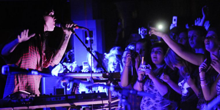 KINGSTON, ONT. (Oct. 14, 2011): Lights performed to more than 800 people from all ages at the concert.