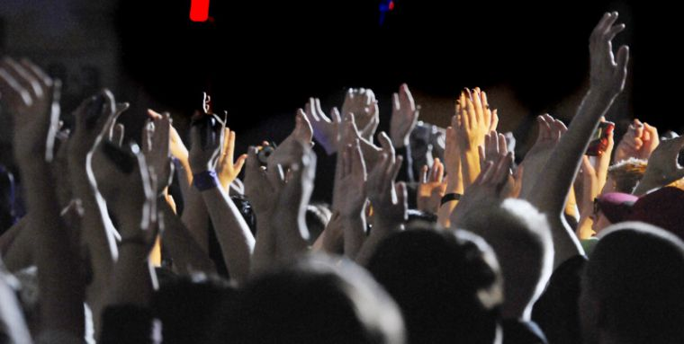 More than 800 people from all ages attended the concert.
