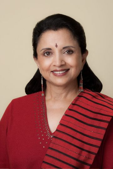 Lata Pada is the artistic director and founder of Sampradaya Dance Creations.