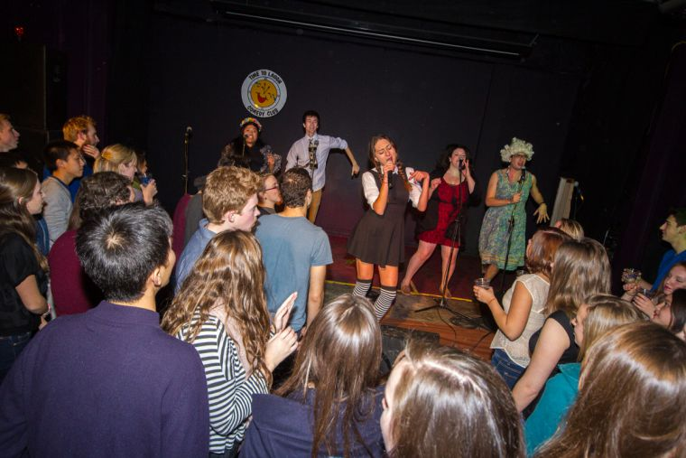 Drunkenly snapped photos from Wednesday night's Queen's Players.