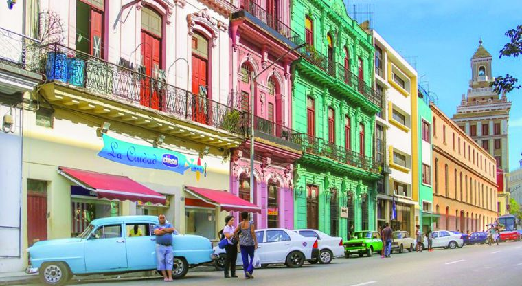 Rarely have I visited any other city in the world that shared the same love for color as Havana does.