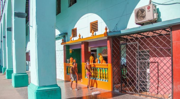 Colour is an eternal theme in the discussion of Cuban architecture.