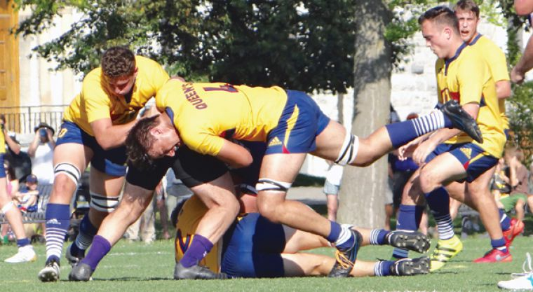 The Gaels' suffocating defense conceded 15 total points through four games this season.