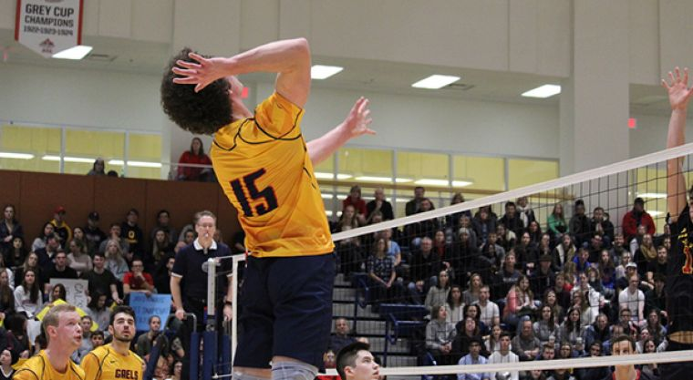 Zac Hutcheson prepares to land a kill.