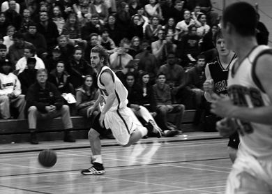 Ryan Hairsine was a major contributor to the Gaels this season.