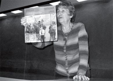 Holocaust survivor Bronka Krygier spoke on Wednesday evening about her experiences in the Second World War.