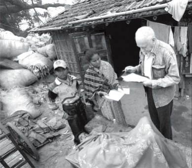 Dr. Jack, pictured here in Calcutta, said he will return to the region after his visit to Kingston.