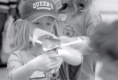 The University's Women in Science and Engineering program organized a day of engineering-related activities on Saturday meant to encourage young girls to pursue applied science, which is currently a predominantly male faculty.