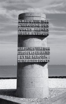 The Canadian monument on Juno Beach is a permanent reminder of Canada's role in the Second World War.