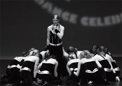 The competitve dance team is preparing for the American national championships in April.