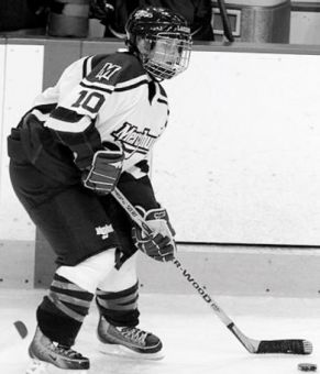 Canadian Julia Colizza is the captain of the Mercyhurst Lakers.