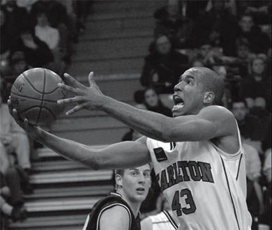 Carleton player Osvaldo Jeanty is the fourth player in Canadian history to graduate with five championship rings.