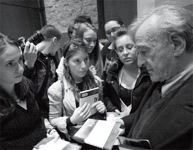 Wiesel was awarded the Nobel Peace Prize in 1986 for his work as a human rights advocate.