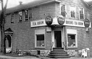 The original Queen's Tea Room was located on the corner of Division and Union streets for more than 60 years.