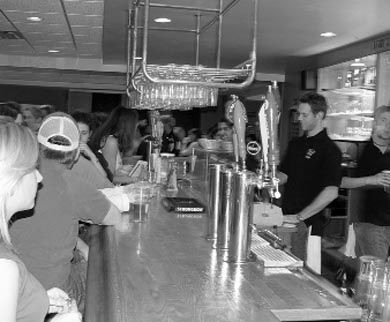 The Queen's Pub (QP) is a popular on-campus bar.