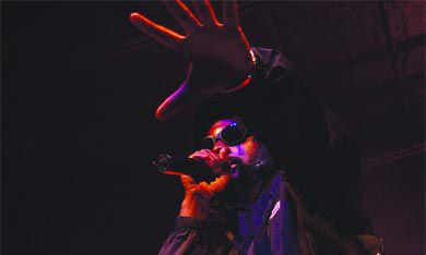 """K-OS proves to the frosh that """"hip-hop's not dead—it's all in the emcee"""" at the annual frosh concert last Friday."""