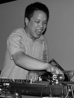 Vancouver native Kid Koala scratches and spins his heart out.