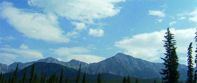"""In the Canadian Rockies, the spectacular vistas and wild small town dancers captured the heart of """"city girl"""" Rosel."""