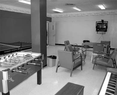 MCRC is working with Residence and Hospitality Services to refurbish common rooms.