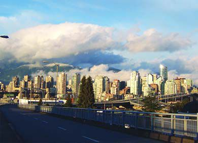 You can find mountains, the ocean and a bustling downtown core in Vancouver.