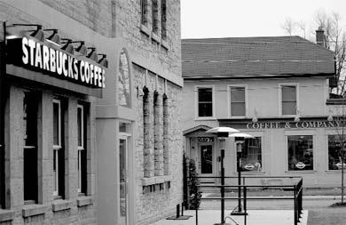 The newest Starbucks, at Johnson and Division Streets, opened in the fall of 2005.