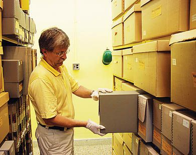 Archivist Paul Banfield time-travels in the Queen's Archives.