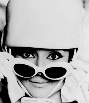 Legendary actress and style icon Audrey Hepburn's oversized sunglasses have made a comeback.