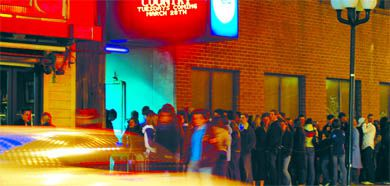 Thursday nights in the Hub—the corner of Division and Princess Streets—are still packed one year after the death of Queen's student Justin Schwieg at A.J.'s.