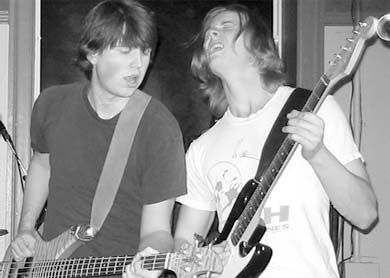 Jamie Cousin and Colin Pendrith, of the 'Sack, play jaw-dropping rawk!