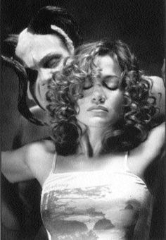 Catherine Deane (Jennifer Lopez) gets raunchy with the inner, evil Carl Stagher (Vincent D'Onofrio).