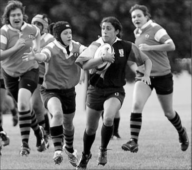 Women's rugby defeated the York Lions 31-19 on Wednesday.