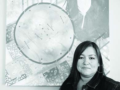 Four Directions Aboriginal Student Centre manager Georgina Riel says now is a good time for an aboriginal awakening.
