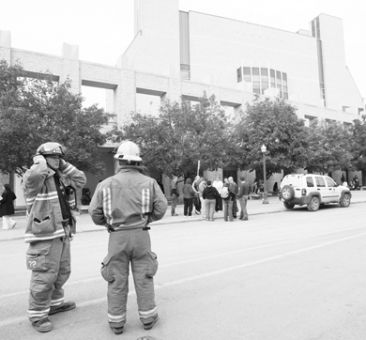 Firefighters never determined the source of the smoke in Stauffer Library last week.