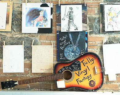 M.P. Tully started drawing sketches of musicians to keep from feeling restless at concerts.