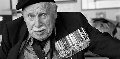 After being wounded in the Second World War, John Matheson became a judge and politician, helped create the Canadian flag and founded the Order of Canada.