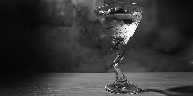 This vodka martini, mixed up at Tango on King Street, combines vodka, Vermouth and an olive garnish for a finishing touch.
