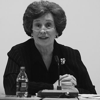 Karen Hitchcock was Queen's first female principal.