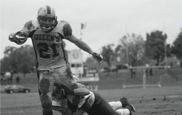 Mike Giffin, seen here in an Oct. 27 game against Western, was drafted 17th overall.