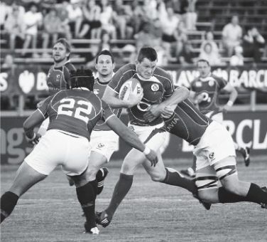 International rugby was on show at Richardson Stadium