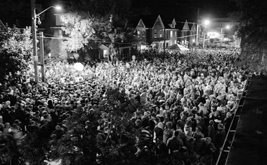 On Oct. 14, 2007, an estimated 4,000 to 6,500 people flocked to Aberdeen Street for the annual unsanctioned street party.